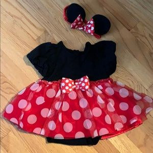 12-18 month Minnie Mouse costume